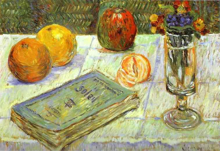 Still Life with a Book